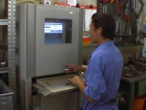 Lavorazioni metalliche in torneria automatica