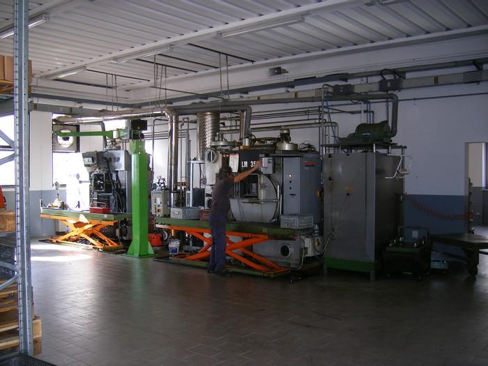 Lavaggio minuteria metallica Lusa Meccanica