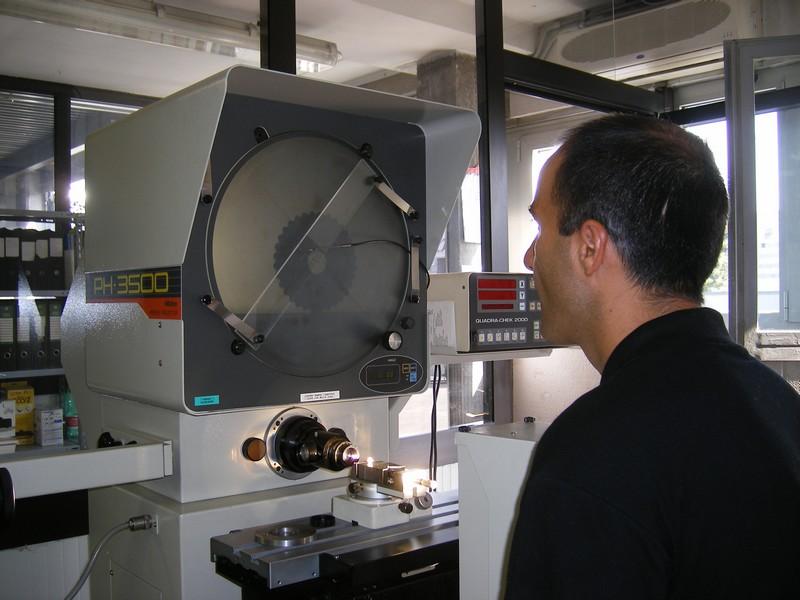Controllo qualità Lusa Torneria Meccanica